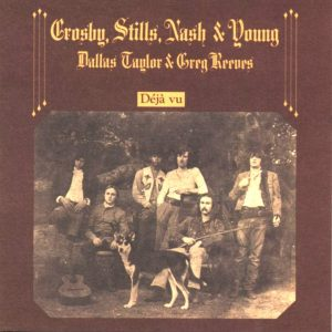 albumhoes Deja Vu van Crosby Stills Nash en Young